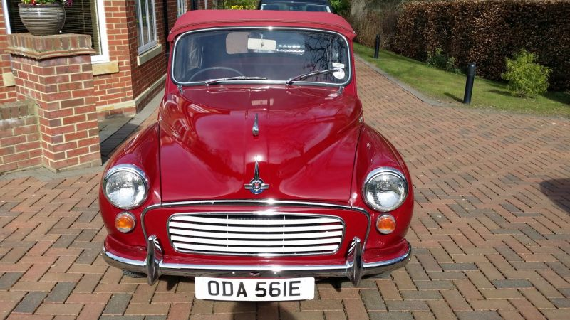 Morris Minor 1000 Convertible 1967 • Durham Classic Cars