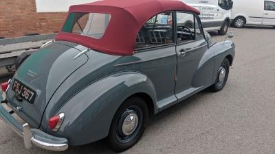 1957 Original Morris Minor Convertible SOLD