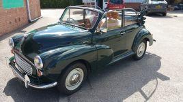 BRG Morris Minor 1000 Convertible 1968
