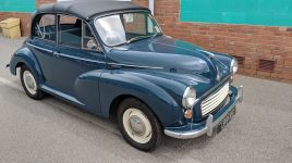 Original Factory Morris Minor 1000 Convertible 1967